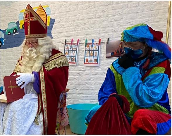 Sinterklaas brengt ons een bezoek
